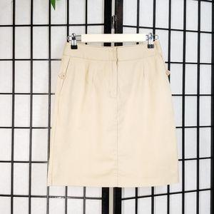 Talbot's Khaki Midi Skirt